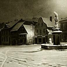 Zima v Železném Brodě před devadáti lety