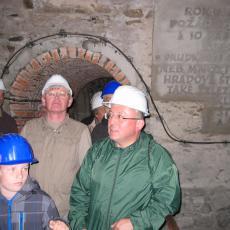 Na prohlídce táborského podzemí