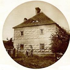 Rožmberská bašta kolem roku 1920