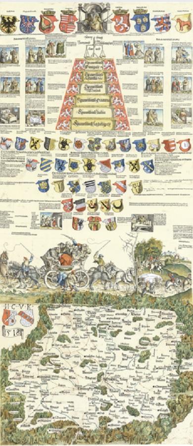 Turisticke Listy Pred 500 Lety Byla Vytistena Prvni Mapa Cech